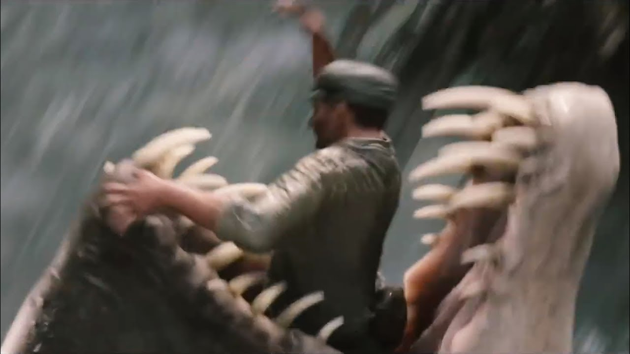 Swamp Monster Eats People King Kong Youtube