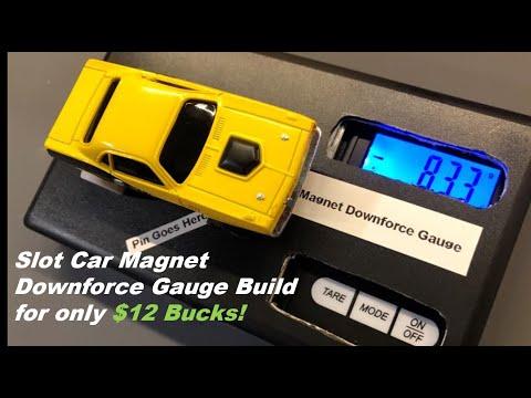 AFX Slot Car Magnet Downforce Gauge Build