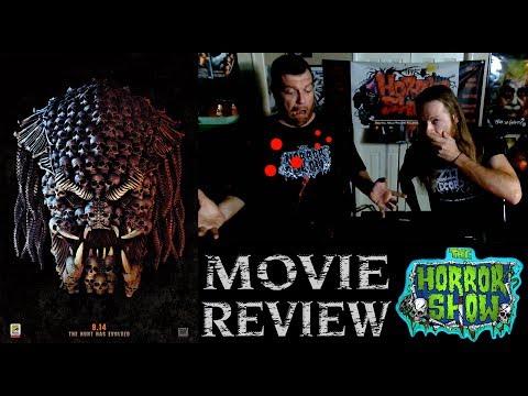 """""""The Predator"""" 2018 Shane Black Sequel Non-Spoiler Movie Review - The Horror Show"""