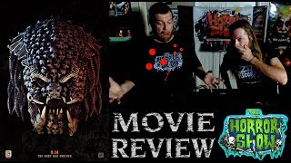 """The Predator"" 2018 Shane Black Sequel Non-Spoiler Movie Review - The Horror Show"