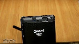 Unboxing. The best tablet with 3G on price 55$ Nomi Sigma C07008 Black. Part 1