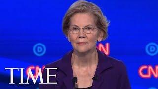 Elizabeth Warren Plays Defense On Medicare For All | TIME