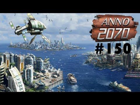 Let's play Anno 2070 #150 (Deutsch) - Einzelmission 4  - Die Flinte ins Korn werfen