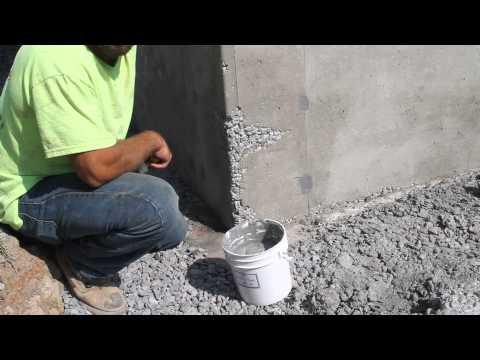 Honeycomb, Fills Concrete Holes:  DECO Wall Tie Patch