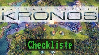 Checkliste: Battle Worlds: Kronos [ Test / Gameplay / Deutsch / HD / PC ]