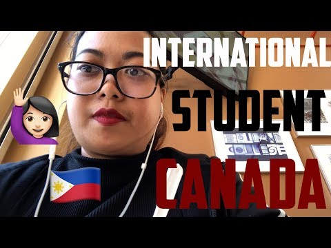 A WEEK AS A STUDENT IN CANADA - Follow Me Around