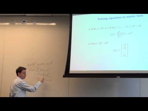 Lecture 4: Linear algebra (cont), matrix calculus, MATLAB