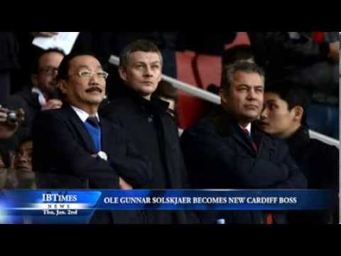 Ole Gunnar Solskjaer Becomes New Cardiff Boss