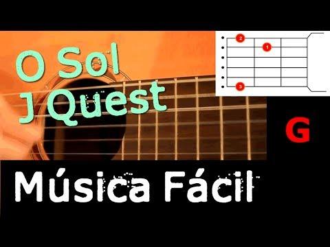 Música fácil para Violão Iniciante - O Sol - Jota Quest -