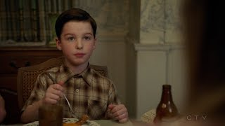 Young Sheldon is done with High School - Young Sheldon S01E19