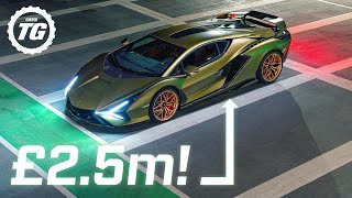 Lamborghini Sián: why this V12 hybrid costs more than a mansion | Top Gear