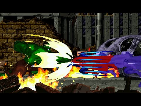 Superman Vs Hulk - DC Vs Marvel Fangame Project