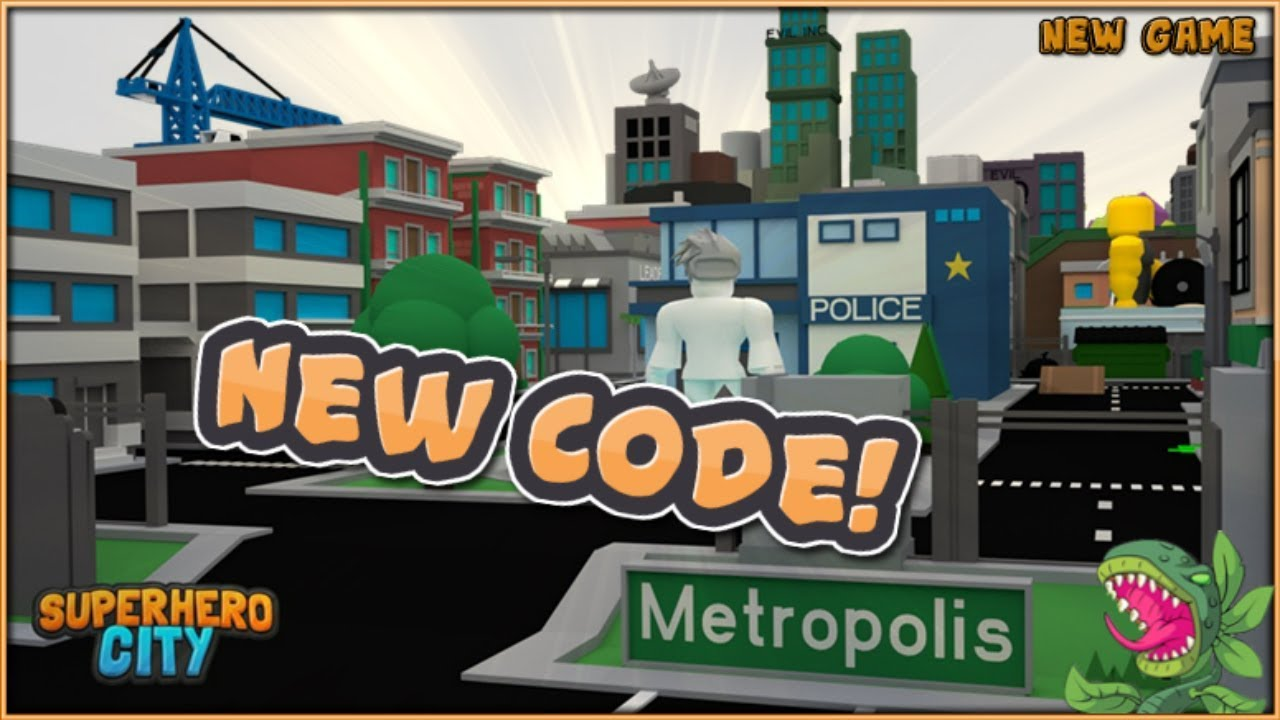 Superhero City Roblox New Code Youtube