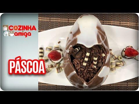 Recheios De Ovos De Páscoa  - Dalva Zanforlin | Cozinha Amiga (15/03/18
