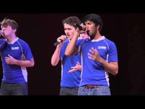 The Michigan G-Men -- Skinny Love, Collegiate A-Cappella Showcase 2014