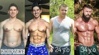 Awesome Men Body Transformation Male Fat To Muscle Fit Motivation Before And After