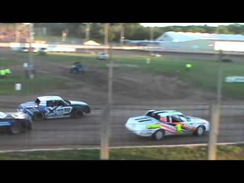 Red Cedar Speedway Pure Stock Feature July 8, 2016