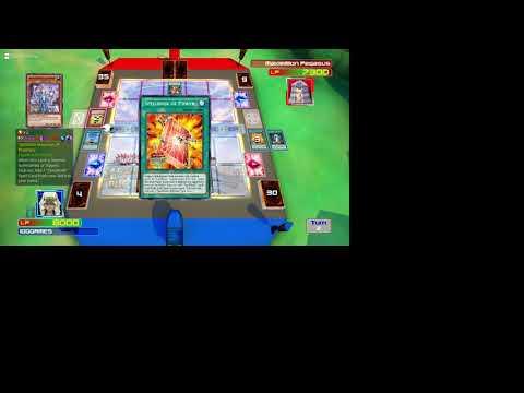 Yu Gi Oh! Legacy of the Duelist : against Pegasus |