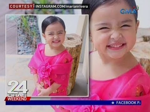 24 Oras: Zia Dantes, na naka-Filipiniana, kinagiliwan ng netizens - 동영상