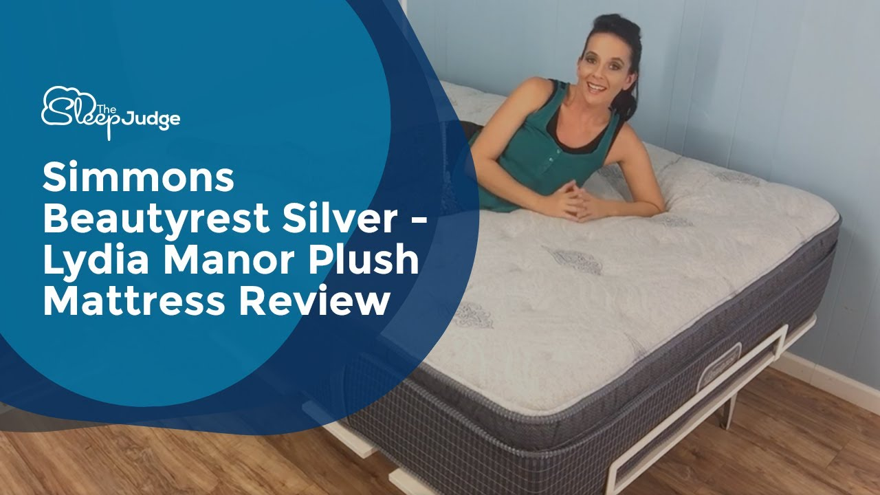Simmons Beautyrest Silver Lydia Manor Plush Mattress Review