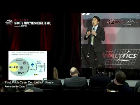 SSAC15: First Pitch Case Competition Finals (Presented by Zebra Technologies)
