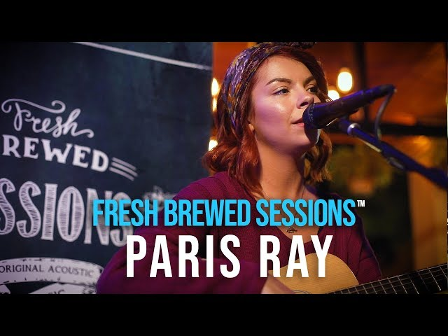 #acoustic #singersongwriter Paris Ray |  Get Well Soon  | Fresh Brewed Sessions ™