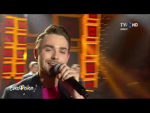 03 Olivier Kaye - Right Now (LIVE @ Eurovision 2019 Romania Semi 2)