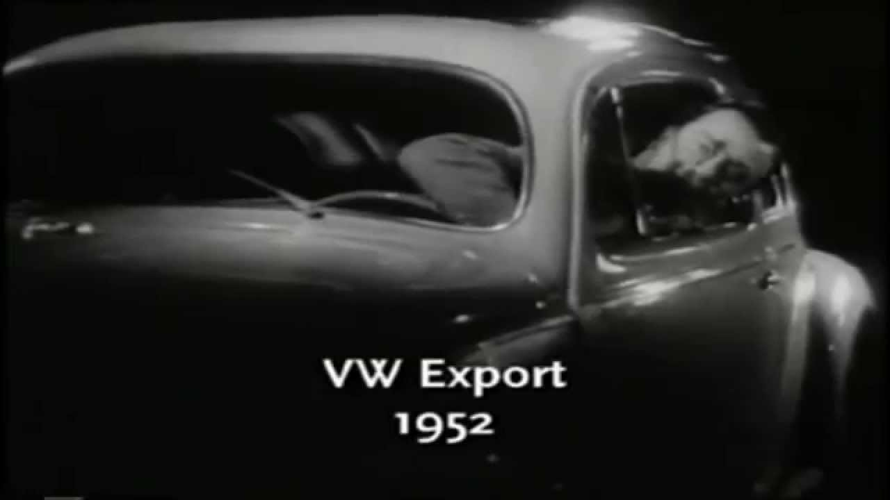 Anatomía de un Sedan / Vocho / Escarabajo VW - Comercial Vintage 7 ...