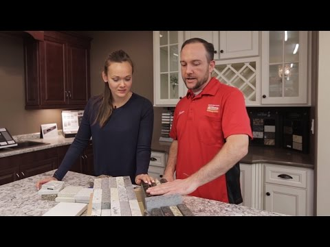 KITCHEN DESIGN TIPS: Choosing Your Countertop & Backsplash Materials
