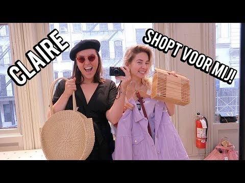 Claire shopt outfits voor me in New York! | Beautygloss