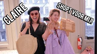 Claire shopt outfits voor me in New York!   Beautygloss