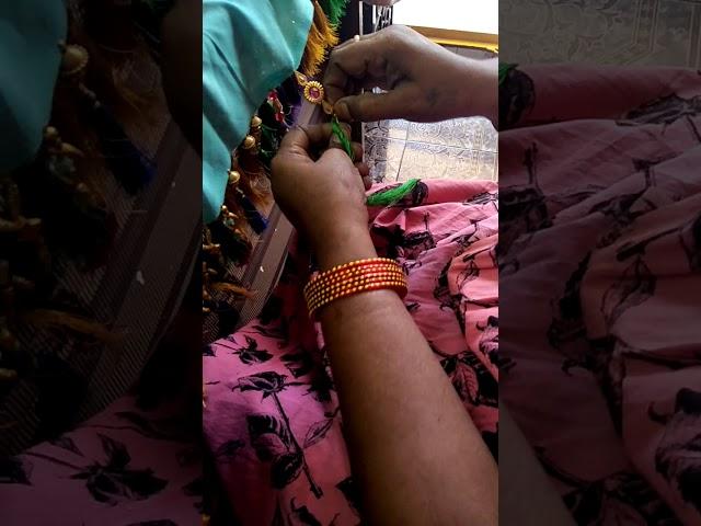 Saree kuchulu designs by rama