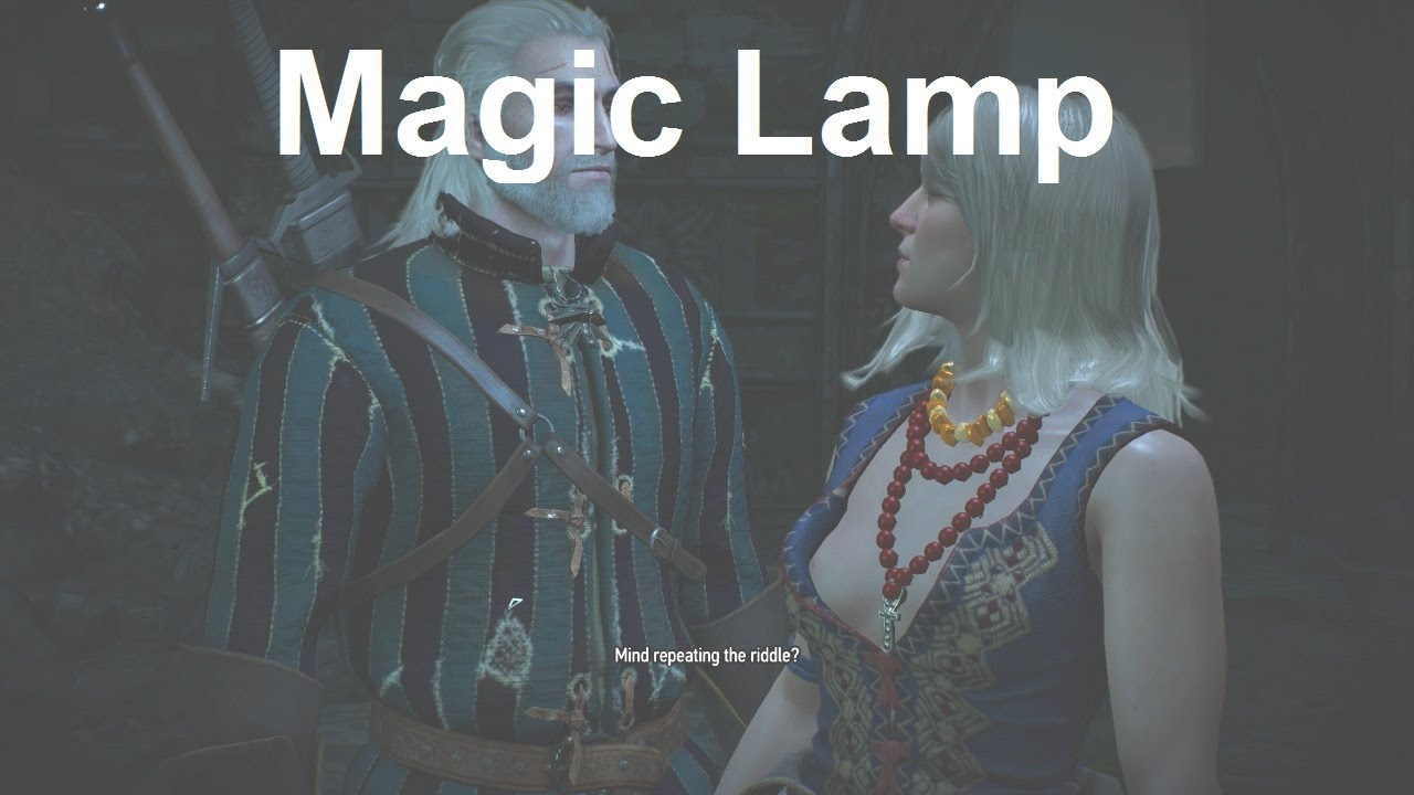 Light the Braziers in the Correct Order - Magic Lamp - The Witcher ...