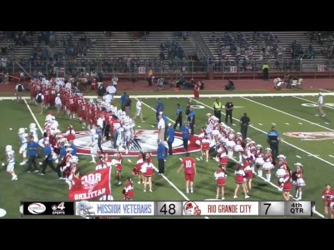Mission Veterans vs Rio Grande City Football Video