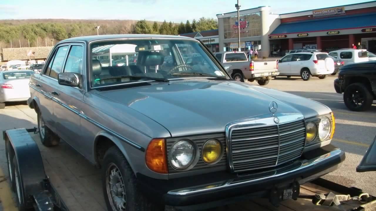 1984 mercedes benz 300d youtube for Mercedes benz 300d