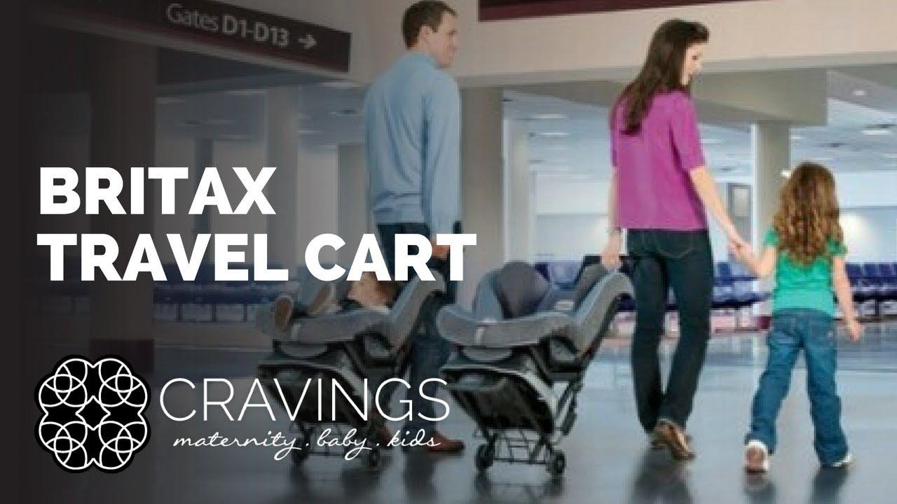 Britax Travel Cart Demo By Cravings