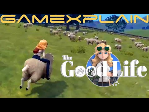 The Good Life From SWERY - A Debt Repayment RPG (Indie World)