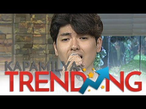 Yohan Hwang sings Kung Ako Na Lang Sana