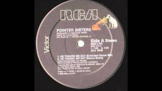 The Pointer Sisters - He Turned Me Out (Extended Mix)