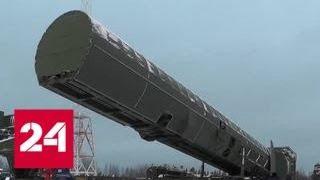 На земле, в небесах и на море: президент о новом оружии России - Россия 24