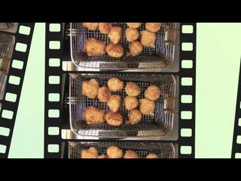 Fried Scallops Recipe – Served with  Tartar Sauce and Greek Rice