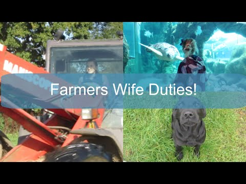 Farmers Wife Duties! | WEEKLY VLOG #24