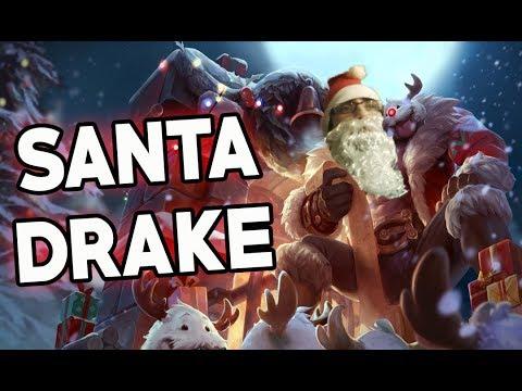 ¡ AQUI LLEGÓ SANTA DRAKE CON REGALOS PARA TODOS !   League of Legends   Drake Rajanj