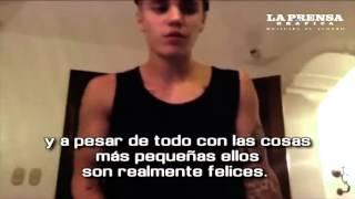 Justin Bieber emocionado por ayudar a construir escuela en Guatemala.