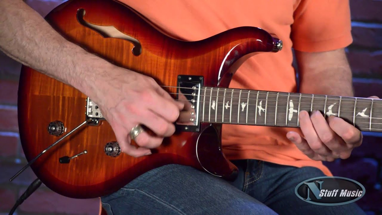 Paul Reed Smith S2 Custom 22 Semi-Hollow | N Stuff Music - YouTube