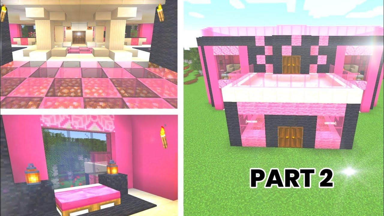 BLACKPINK MINECRAFT - House Build Part 2