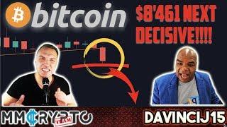 Bitcoin MUST Hold THIS Level!!! BEARMARKET INITIATED!!? w. DavinciJ15