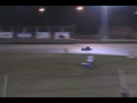Jeremy Huish Wavelink Raceway 2nd Feature Race 1st Place