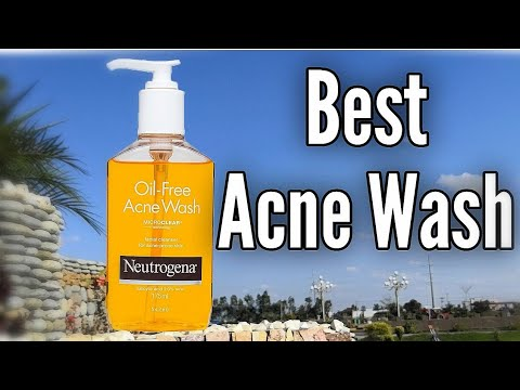 Best Face Wash for Acne, Pimples & Oily Skin, Neutrogena Oil Free Acne Face  Wash Review, Urdu Hindi