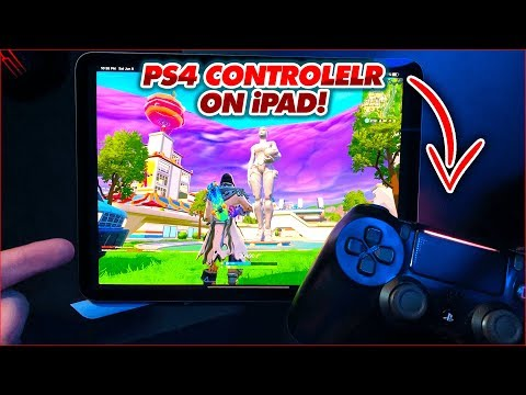 USE PS4 CONTROLLER WITH iOS GAMES (LIKE FORTNITE) // CONNECT CONTROLLER TO IOS 13 NO JAILBREAK